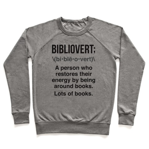 Bibliovert Definition Pullover