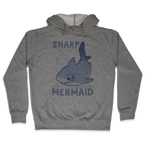 Sharp Mermaid Hooded Sweatshirt