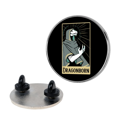 Dragonborn - Dungeons and Dragons Pin