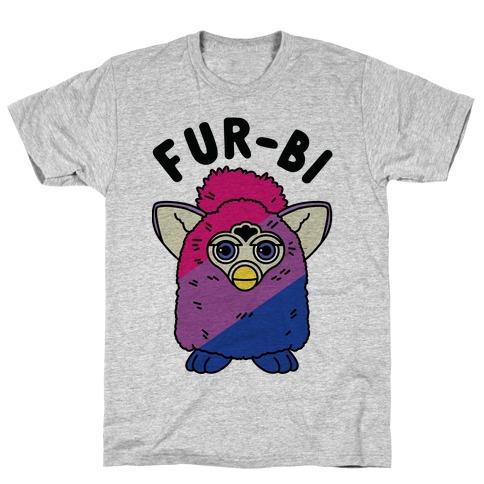 Fur-bi Bisexual Furby T-Shirt