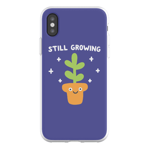 Still Growing Plant Phone Flexi-Case