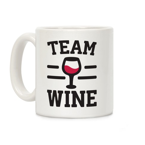 Team Wine Coffee Mug