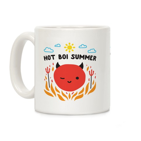 Hot Boi Summer Coffee Mug
