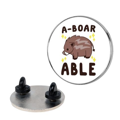 A-boarable - Boar Pin