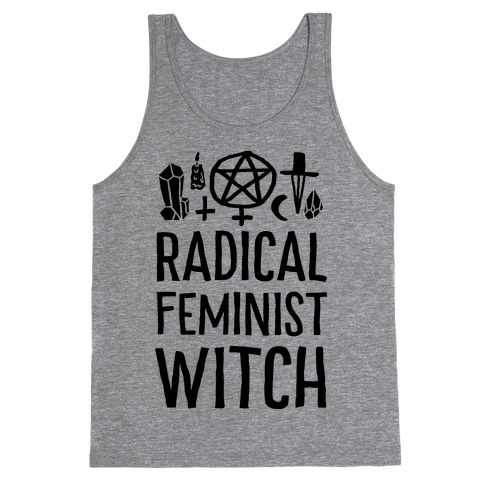 Radical Feminist Witch Tank Top