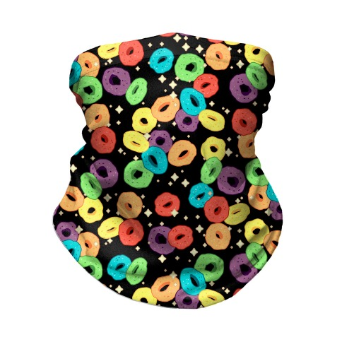 Spacey Fruity Cereal Neck Gaiter