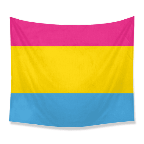 Pansexual Flag Tapestry