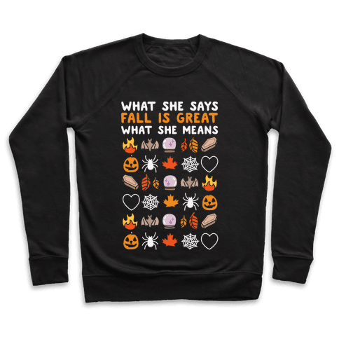 What She Says: Fall Is Great Pullover