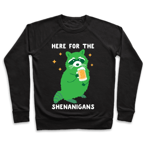 Here For The Shenanigans  Pullover