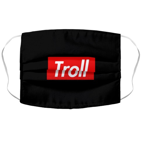 Troll Parody Accordion Face Mask