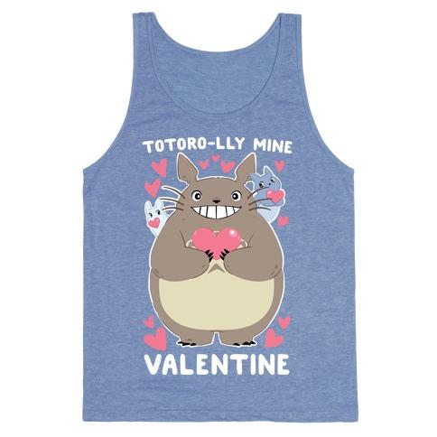 90d5003a Totoro-lly Mine, Valentine Tank Top