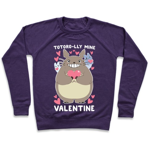 Totoro-lly Mine, Valentine Pullover