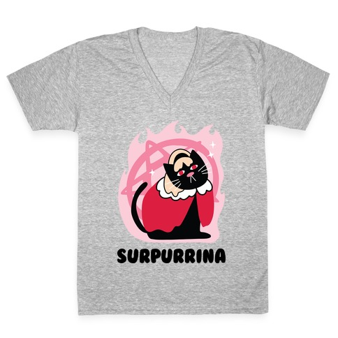 Surpurrina V-Neck Tee Shirt
