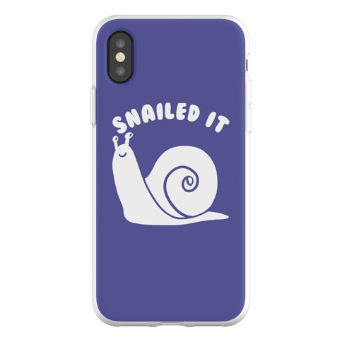 Snailed It Phone Flexi-Case