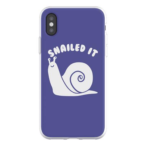 Snailed It Phone Flexi-Case