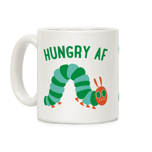 Hungry AF Caterpillar Coffee Mug