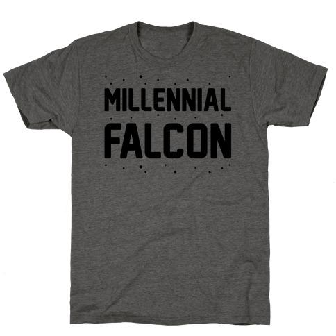 Millennial Falcon Parody T-Shirt