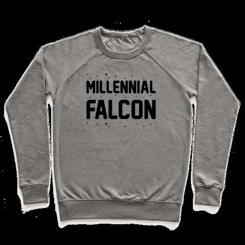 Millennial Falcon Parody Pullover