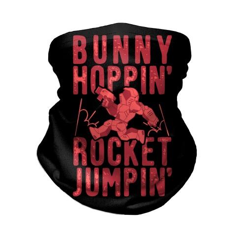 Bunny Hoppin' & Rocket Jumpin' Neck Gaiter