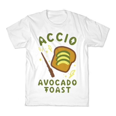 Accio Avocado Toast Kids T-Shirt