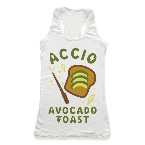 Accio Avocado Toast Racerback Tank Top