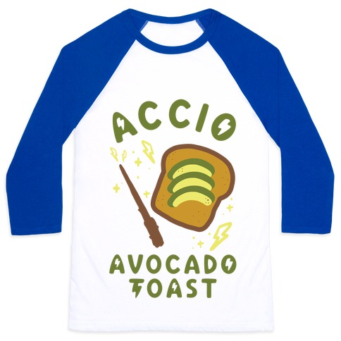 Accio Avocado Toast Baseball Tee