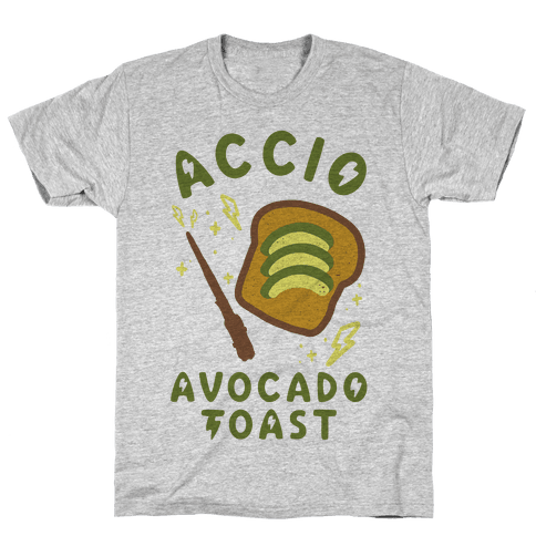 Accio Avocado Toast Mens T-Shirt
