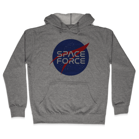 Space Force Parody Hooded Sweatshirt