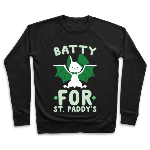 Batty for St. Paddy's Pullover