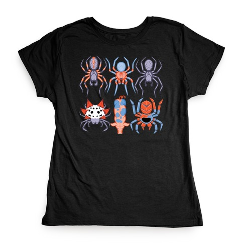 Into the Spiderverse Pattern Womens T-Shirt