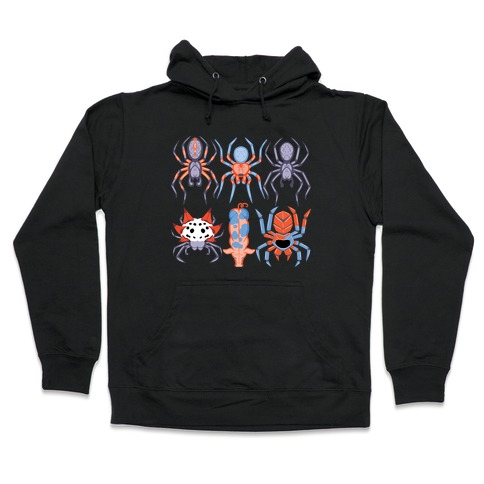 Into the Spiderverse Pattern Hooded Sweatshirt