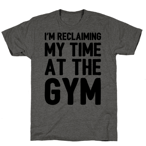 Reclaiming My Time At The Gym Parody