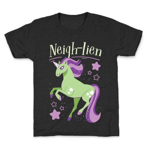 Neigh-lien Kids T-Shirt