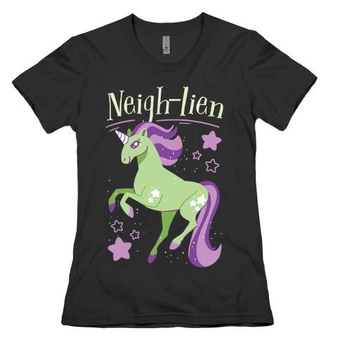 Neigh-lien Womens T-Shirt