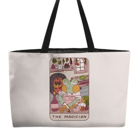 Cottagecore Magician Tarot Card Weekender Tote
