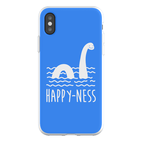 Happy-Ness Loch Ness Monster Phone Flexi-Case