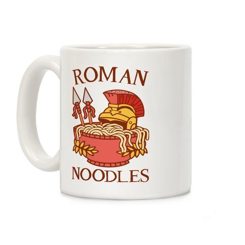 Roman Noodles Coffee Mug