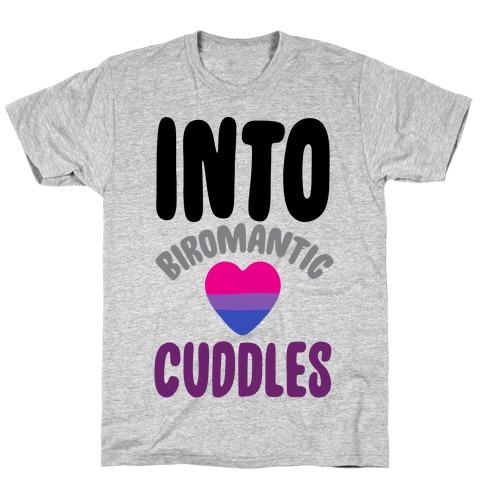 Into Biromantic Cuddles T-Shirt