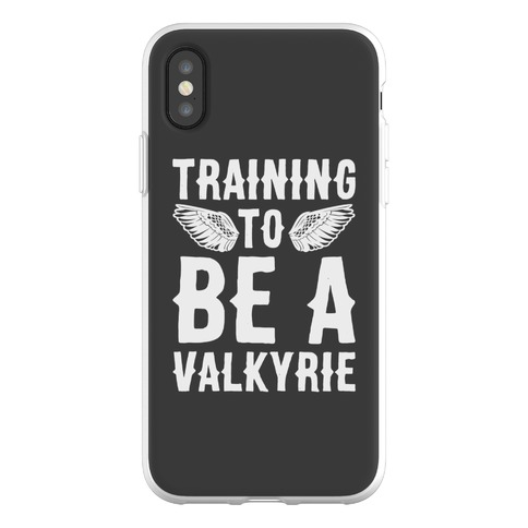 Training To Be A Valkyrie Parody Phone Flexi-Case