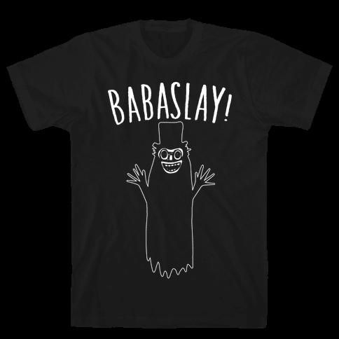Babaslay Parody White Print