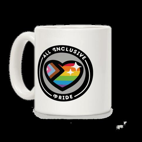 All Inclusive Pride Patch Coffee Mug