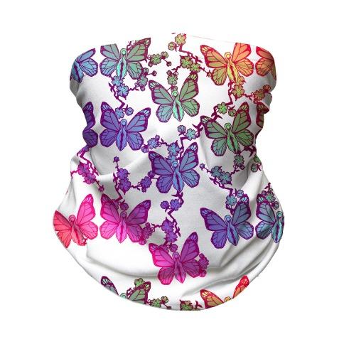 Butterfly Vagina Pattern Neck Gaiter