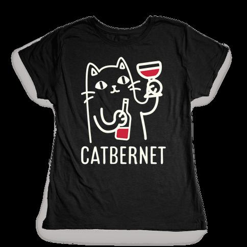 Catbernet Womens T-Shirt