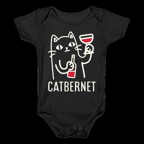 Catbernet Baby Onesy