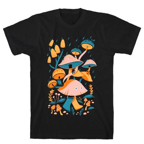 Mushroom Forest Spirits T-Shirt