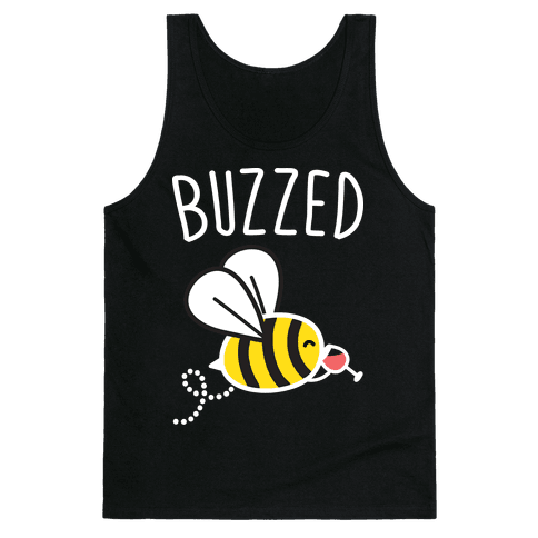 Buzzed Wine Bee Tank Top