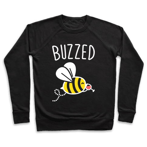 Buzzed Wine Bee Pullover