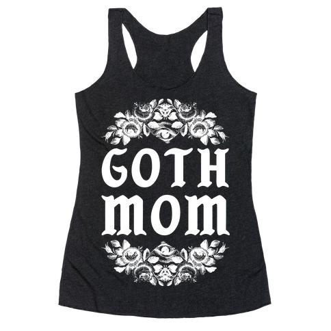 Goth Mom Racerback Tank Top