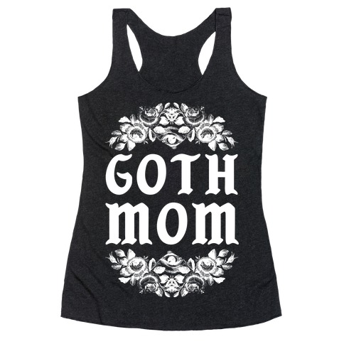 Goth Mom Racerback Tank Top