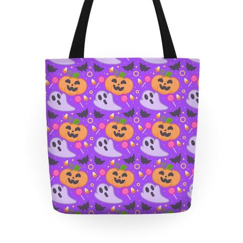 Halloween Fun Pattern Tote